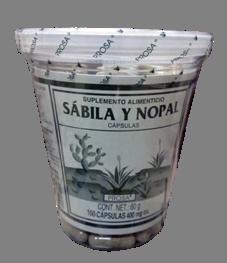 Sábila y Nopal | Centro de Dietética Natural